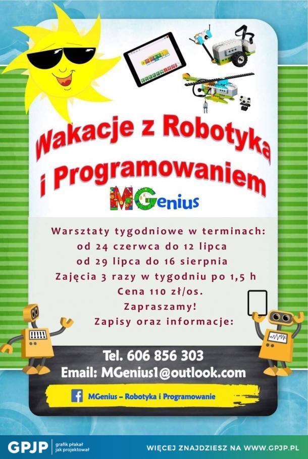 Wakacje z robotyką i programowaniem
