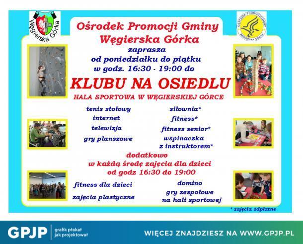 Klub Na Osiedlu – Węgierska Górka